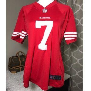 "Kaepernick ""7"" 49ers Women's Jersey"